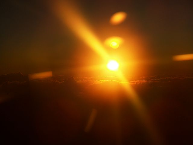 God Sun Rise Rays