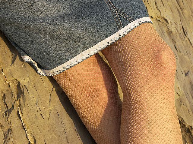 Skirt Tights Girl Legs