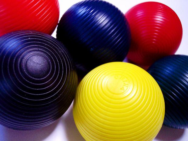 Six color ball