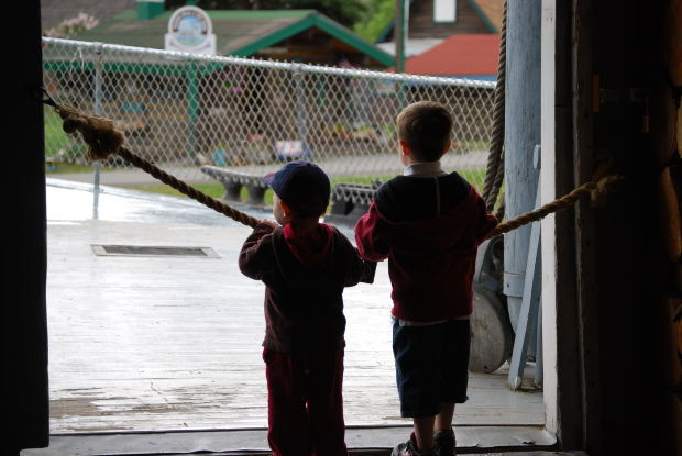 two-friends-gate
