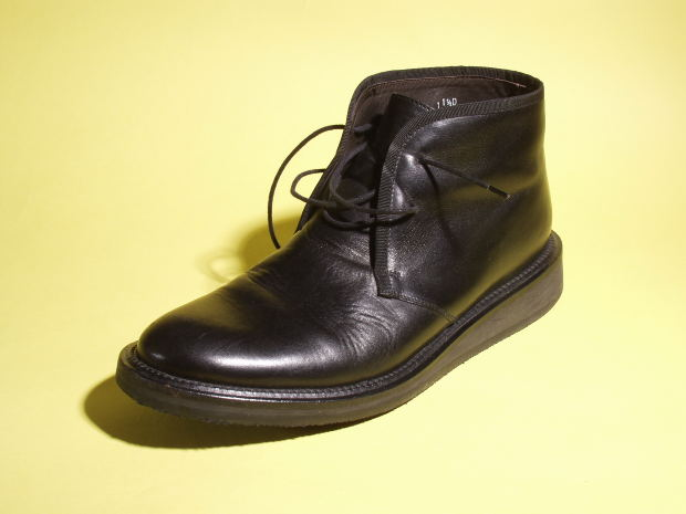 Short-Story-Remorse-black-shoe-one