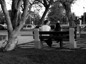 couple-bench