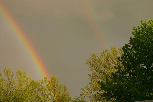two-rainbows-sky