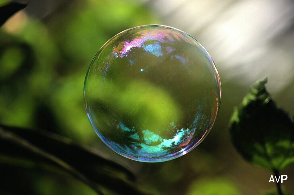single-bubble-green